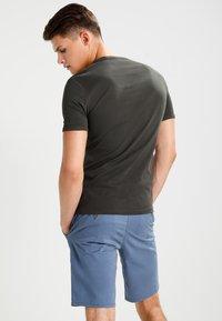 G-Star - BASE 2 PACK  - Basic T-shirt - asfalt - 2
