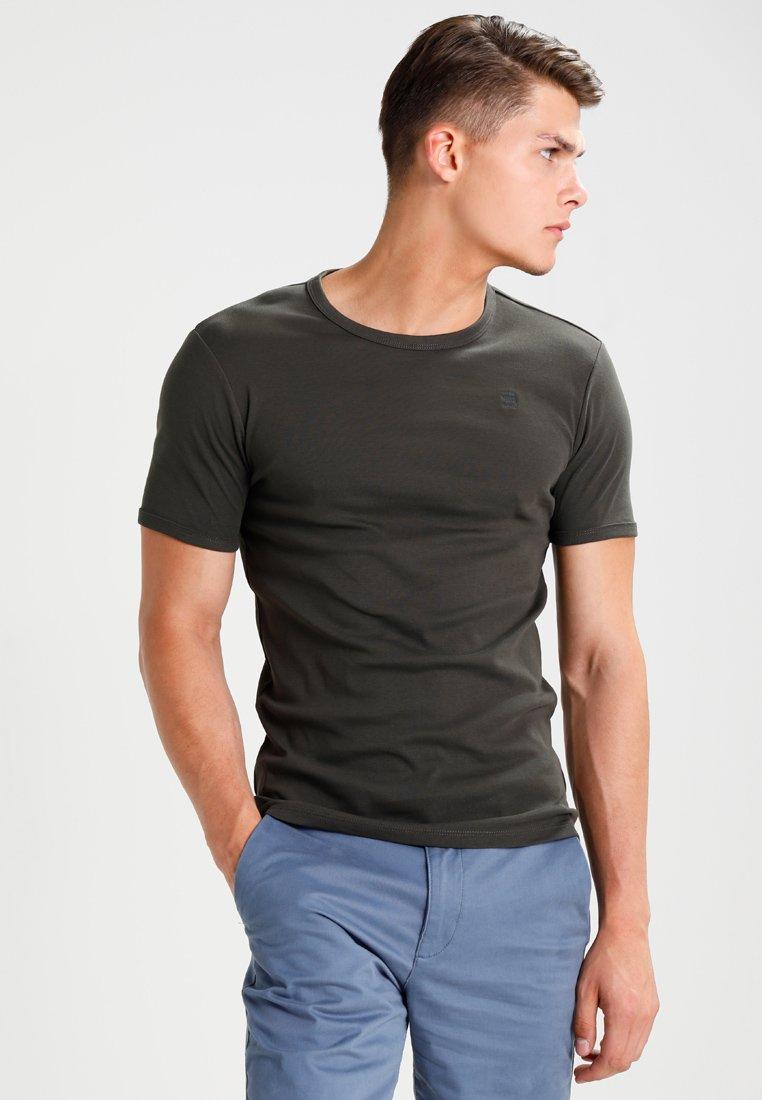 G-Star - BASE 2 PACK  - Basic T-shirt - asfalt