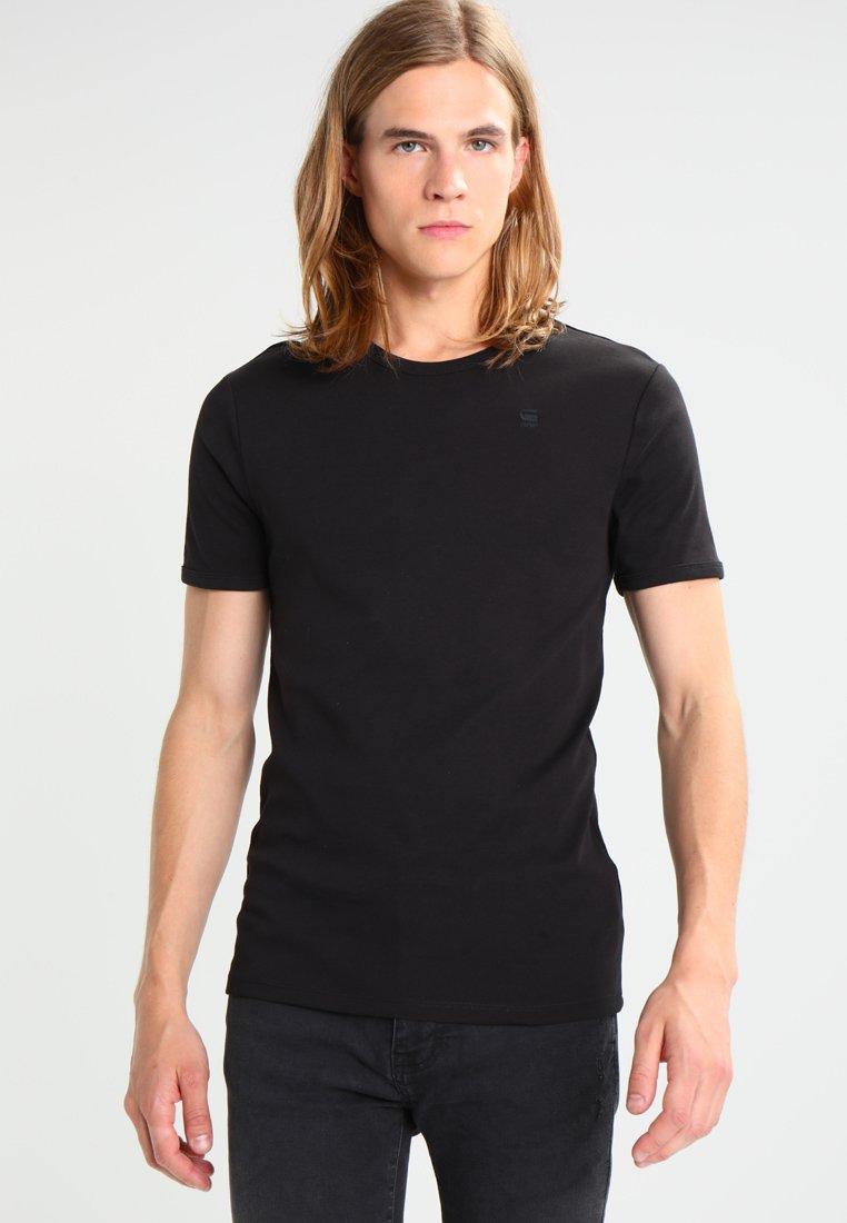 G-Star - BASE R T S/S 2 PACK  - T-shirt basic - black