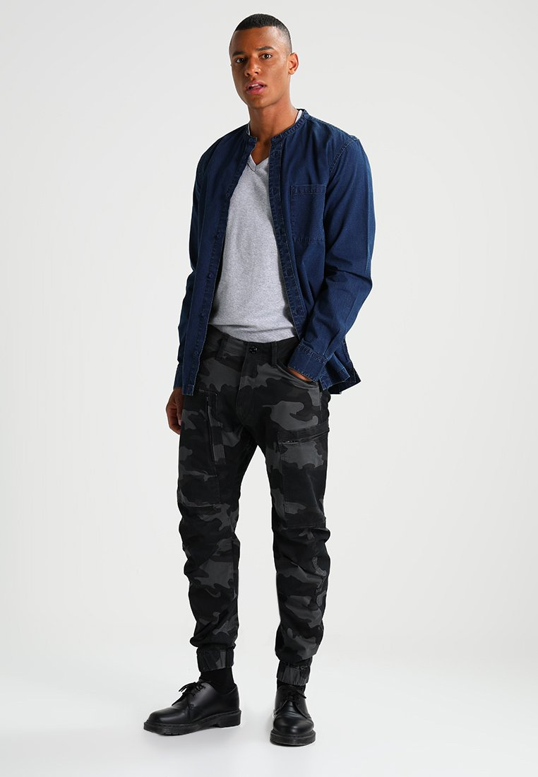 G shirt Slim Heather S Fit PackT Base V star Basique Grey s 2 T wXO08NPnk
