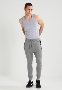 G-Star - BASE TANK T 2-PACK - Top - grey heather - 1