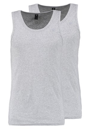BASE TANK T 2-PACK - Top - grey heather