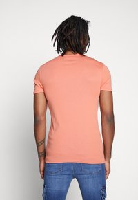 G-Star - BASE V T S/S 2-PACK - Basic T-shirt - apricot - 2