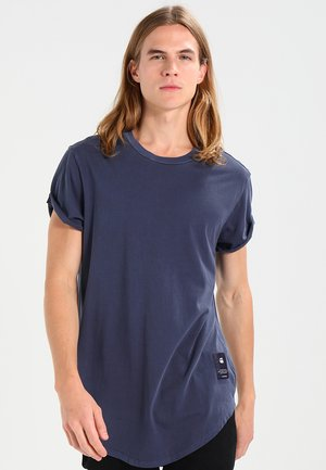 SWANDO RELAXED R T S/S - T-shirt basique - dark saru blue