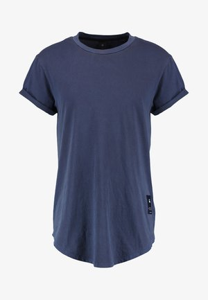 SWANDO RELAXED R T S/S - T-shirt basic - dark saru blue