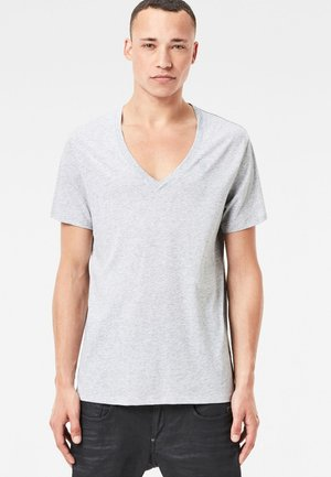 Basic Heather 2er Pack - Basic T-shirt - grey htr
