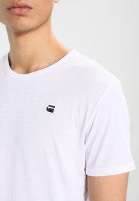 G-Star - BASE-S R T S/S - T-shirt basique - white - 3
