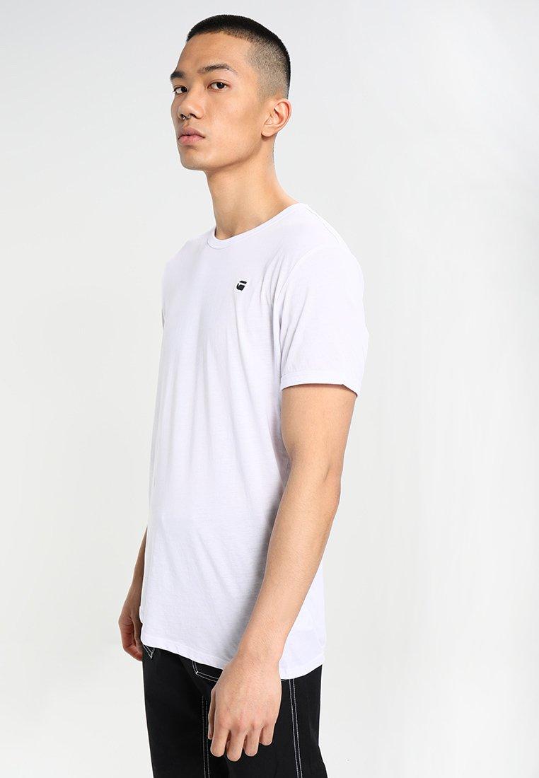 G-Star - BASE-S R T S/S - T-shirt basique - white