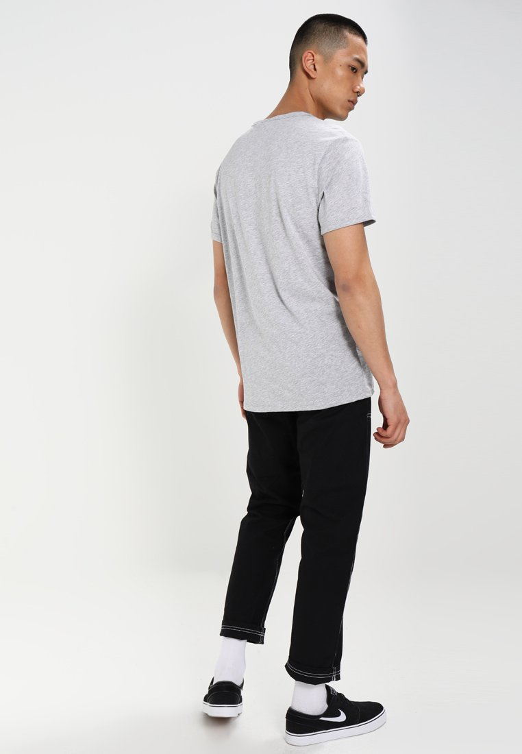 BASE T S Shirt heather ST grey S basic Star R G EDI29HW
