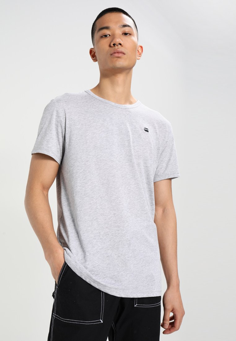 G-Star - BASE-S R T S/S - T-shirt basique - grey heather