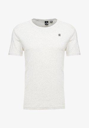 DAPLIN R T S/S - Print T-shirt - white heather