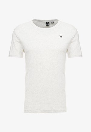 DAPLIN R T S/S - T-shirt med print - white heather