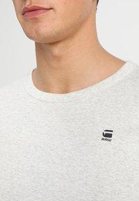 G-Star - DAPLIN - T-shirt imprimé - white heather - 4