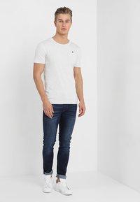 G-Star - DAPLIN - T-shirt imprimé - white heather - 1