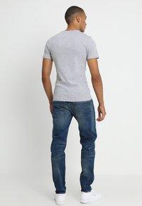 G-Star - DAPLIN - T-shirt imprimé - grey heather - 2