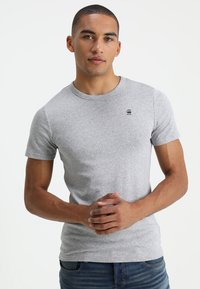 G-Star - DAPLIN - T-shirt imprimé - grey heather - 0