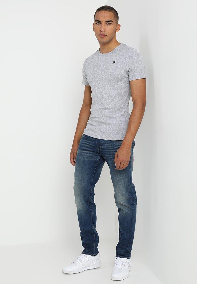 G-Star DAPLIN - T-shirt z nadrukiem - grey heather