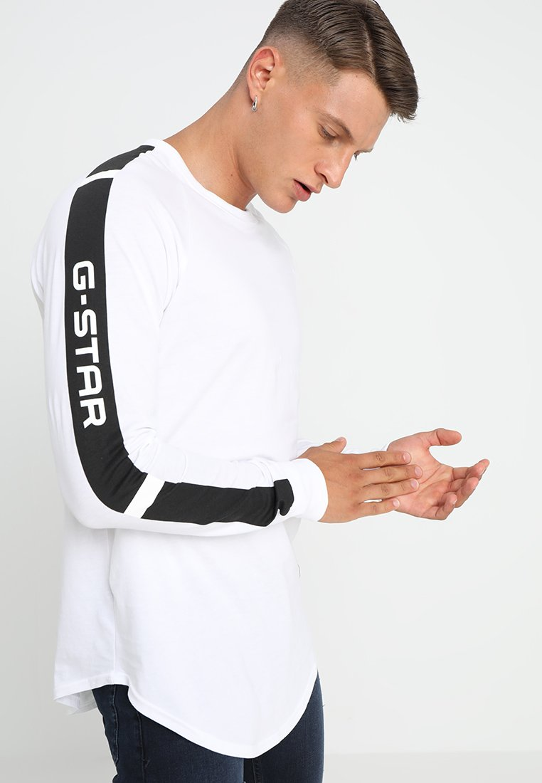 G-Star - SWANDO ART RELAXED  - Camiseta de manga larga - white