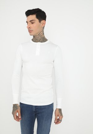 KORPAZ SLIM GRANDDAD T L\S - Long sleeved top - milk