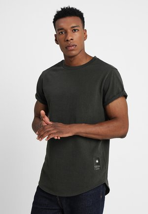 SWANDO NEW RELAXED R T S\S - T-shirt basic - asfalt