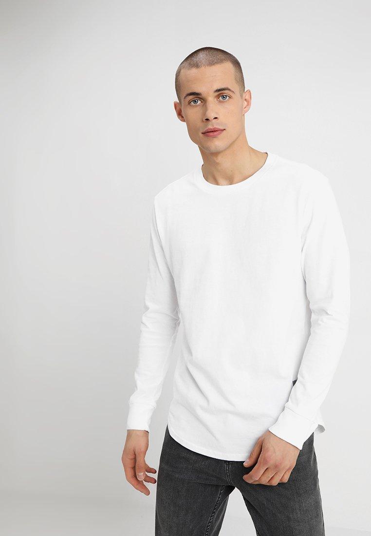 G-Star - SWANDO RELAXED R T L\S - Langarmshirt - white