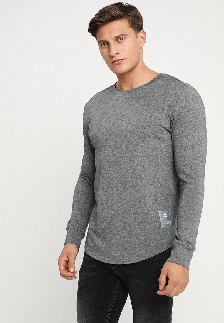 G-Star - SWANDO RELAXED R T L\S - Langarmshirt - carbide heather