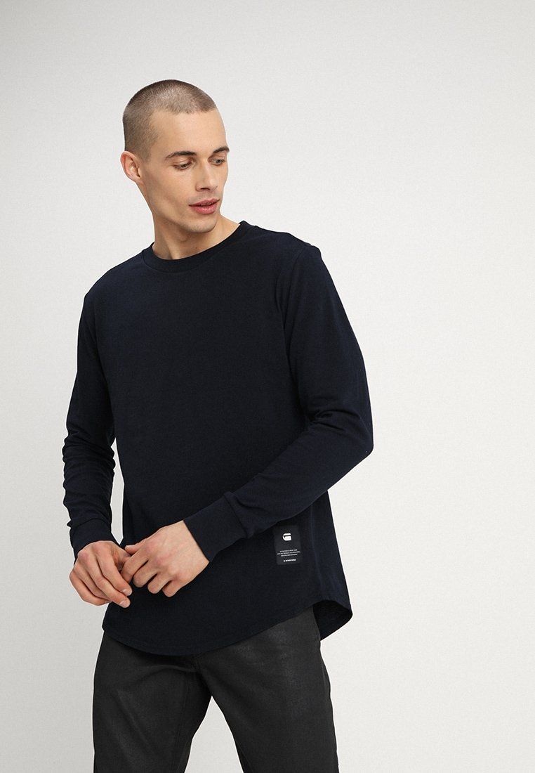 G-Star - SWANDO RELAXED R T L\S - Long sleeved top - mazarine blue