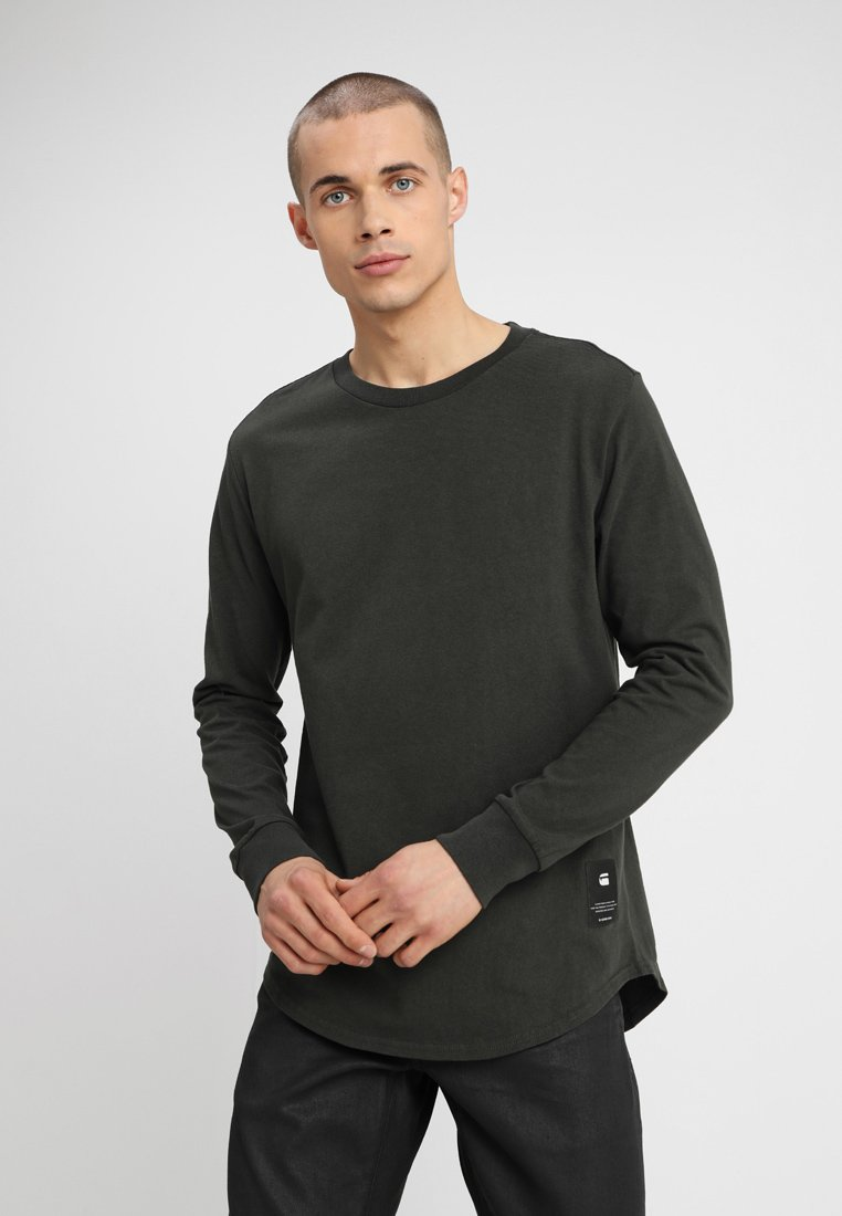 G-Star - SWANDO RELAXED R T L\S - Long sleeved top - asfalt