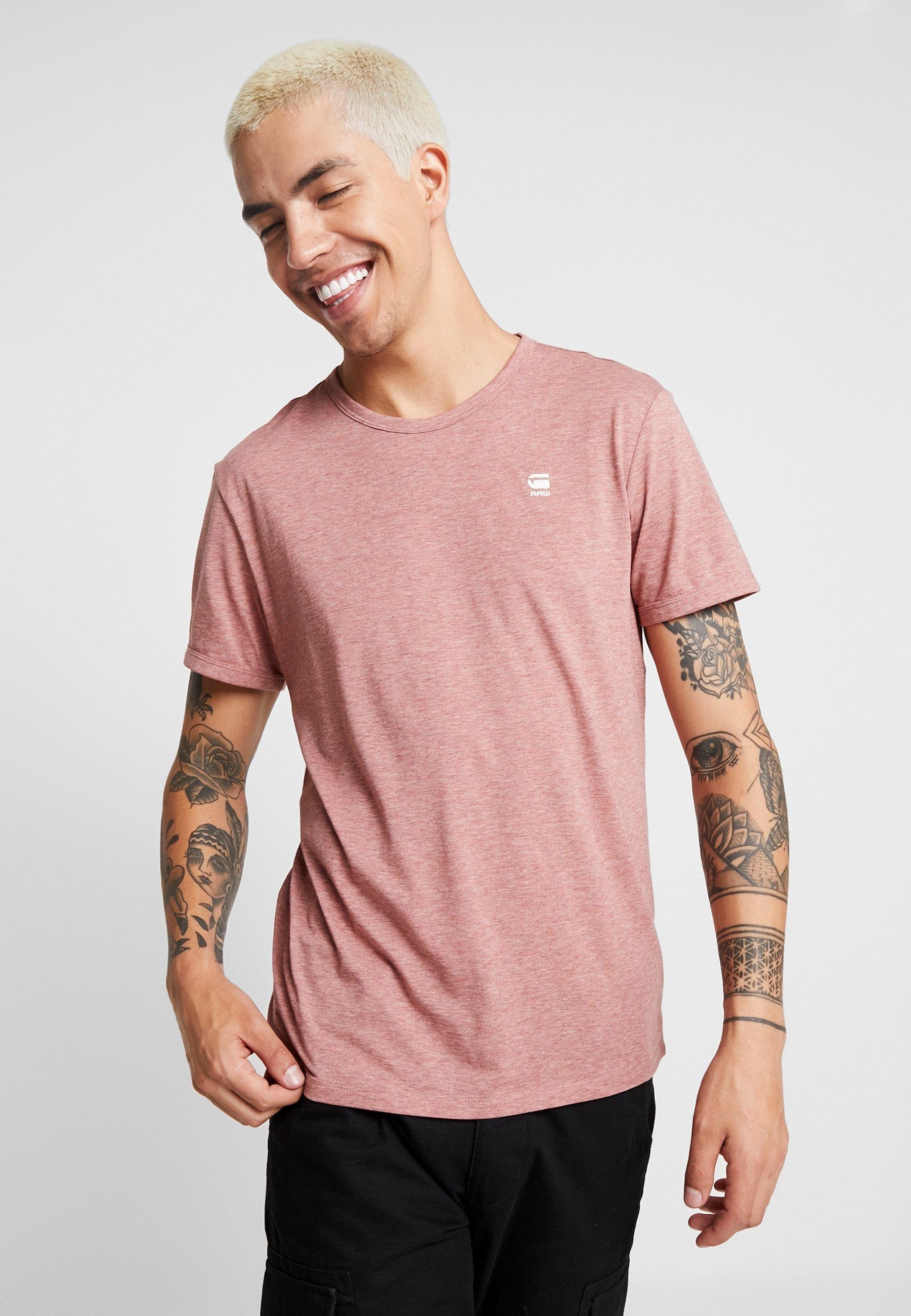 Tea Basique G shirt Rose BaseT star gI6yf7Ybv