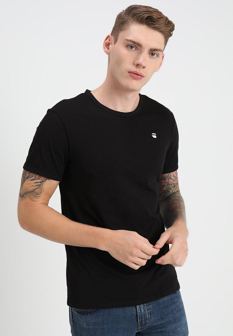 G-Star - BASE - T-shirt basique - dark black