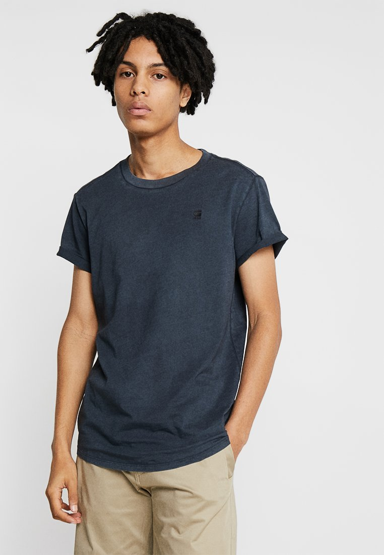 G-Star - SHELO R T S\S - Basic T-shirt - dark black