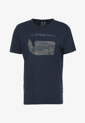 GRAPHIC 07 R T S\S - Print T-shirt - legion blue