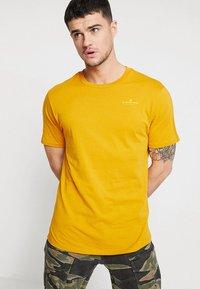G-Star - KORPAZ GRAPHIC R T S\S - T-shirt print - gold - 0