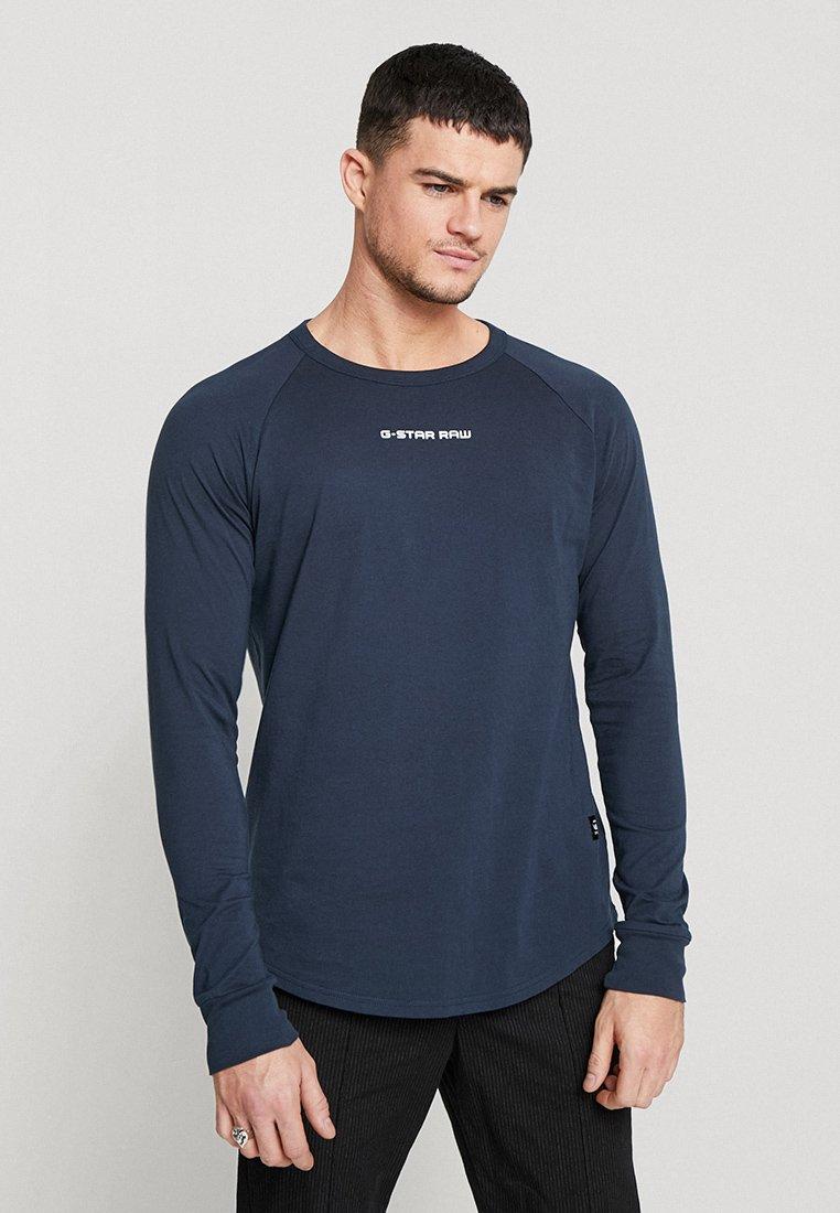 G-Star - SWANDO GRAPHIC RELAXED R T L\S - Camiseta de manga larga - legion blue