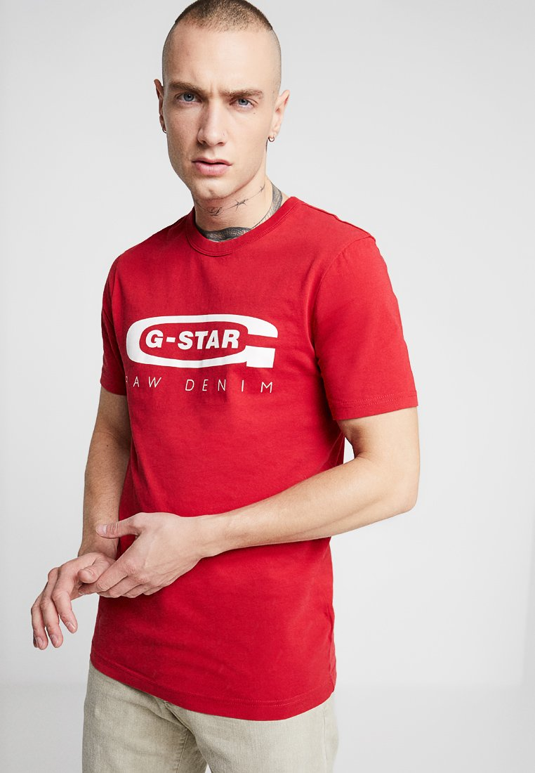 G-Star - GRAPHIC 4 R T S/S - T-shirt print - baron