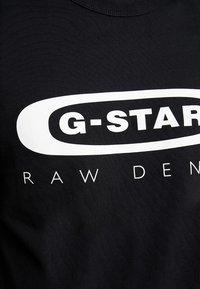 G-Star - GRAPHIC 4 R T S/S - T-shirt print - black - 5