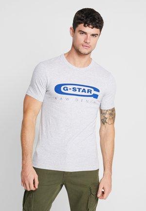 GRAPHIC 4 SLIM - T-shirt print - light grey heather