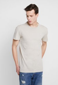 G-Star - RECYCLED DYE R T S/S - T-shirts - sage - 0