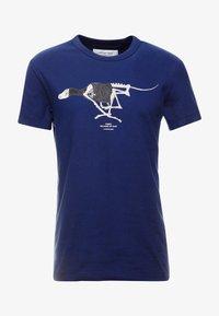 G-Star - 30YR STRAIGHT - T-shirt print - imperial blue - 3