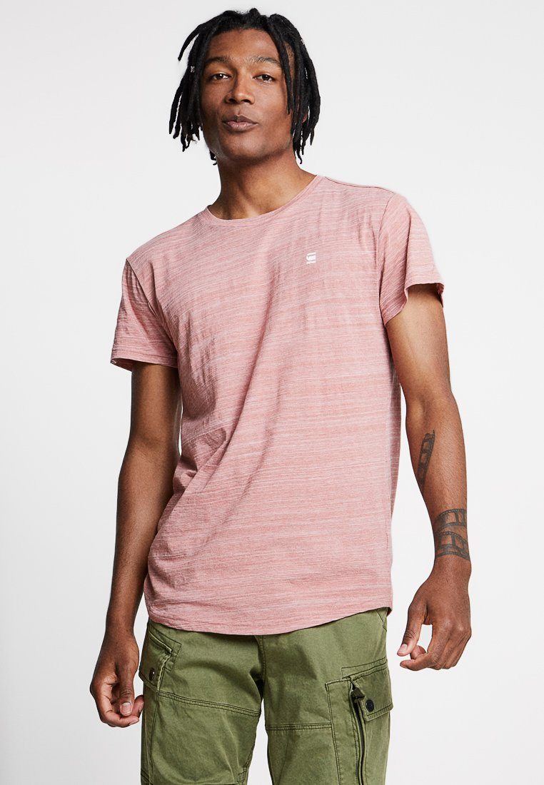 G-Star - STARKON LOOSE - Print T-shirt - dark tea rose
