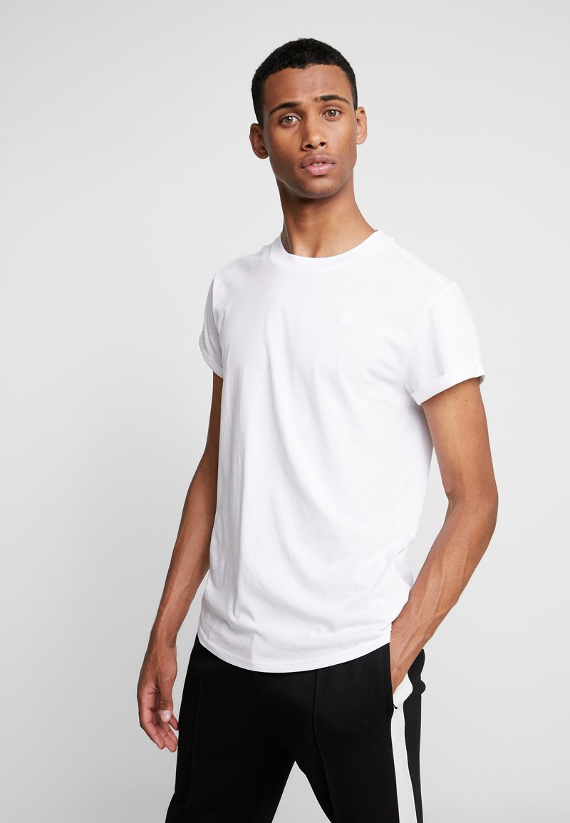 G-Star - SHELO RELAXED R T S/S - T-Shirt basic - white