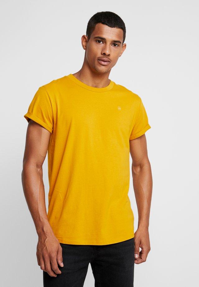 SHELO - T-shirt basic - dark gold