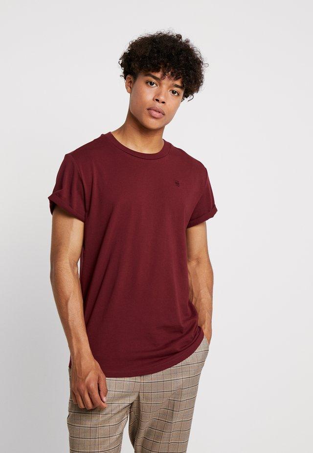 SHELO - Camiseta básica - port red
