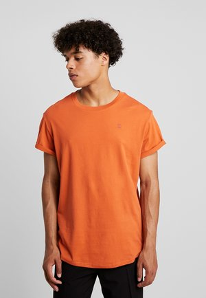 SHELO RELAXED R T S/S - T-shirt - bas - dusty royal orange