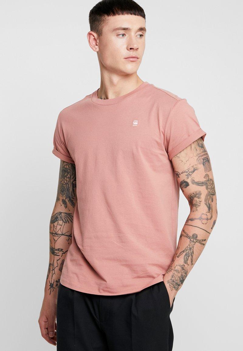 G-Star - SHELO RELAXED R T S/S - T-shirts basic - dark tea rose