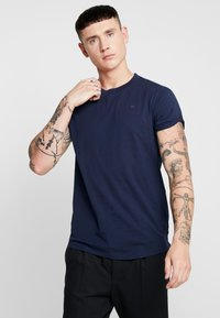 G-Star - SHELO RELAXED R T S/S - T-shirt basic - sartho blue - 0