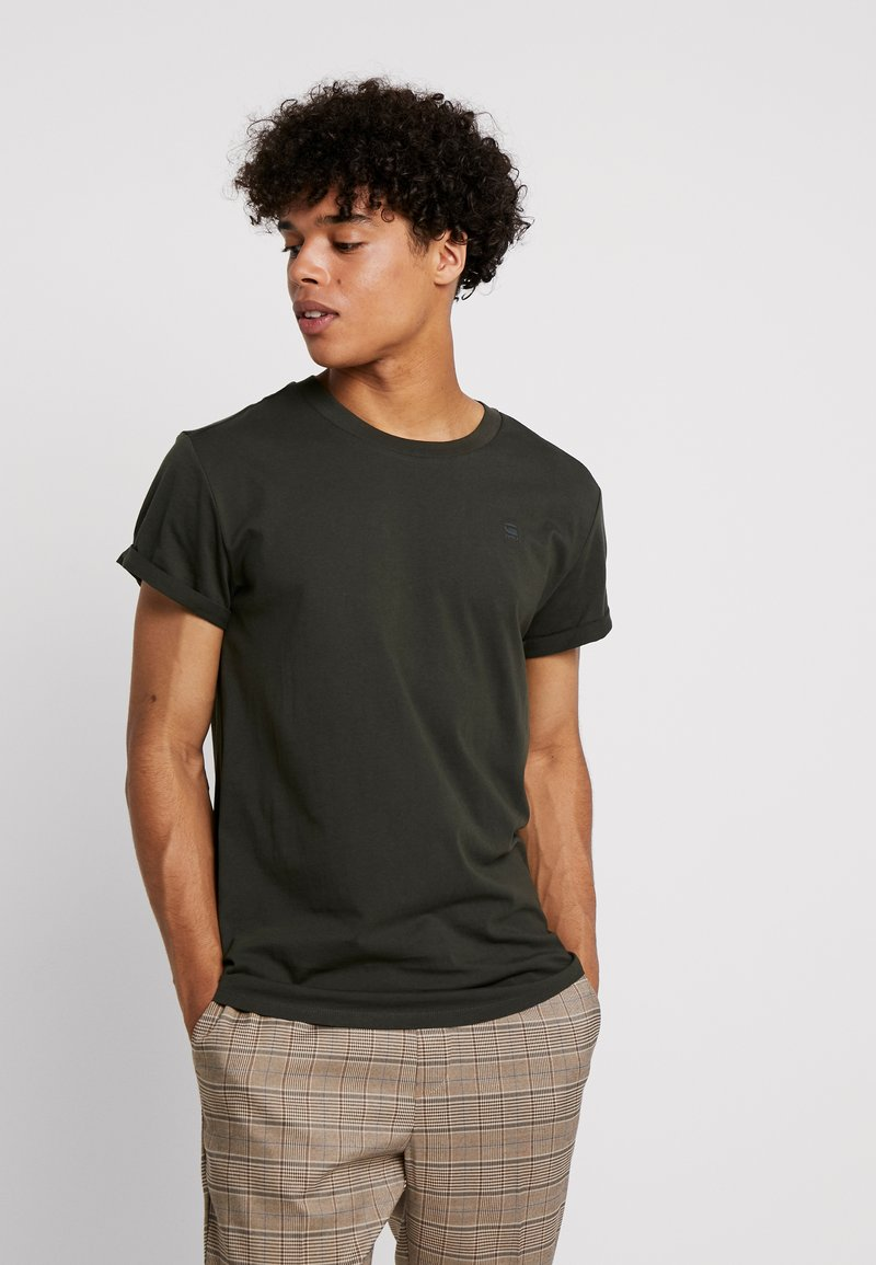 G-Star - SHELO RELAXED R T S/S - T-shirt basic - asfalt