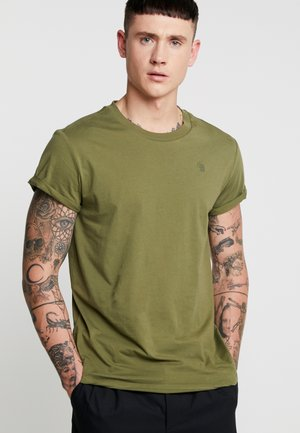 SHELO RELAXED R T S/S - Basic T-shirt - sage