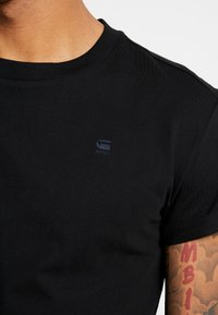 G-Star - SHELO RELAXED R T S/S - Jednoduché triko - black - 4