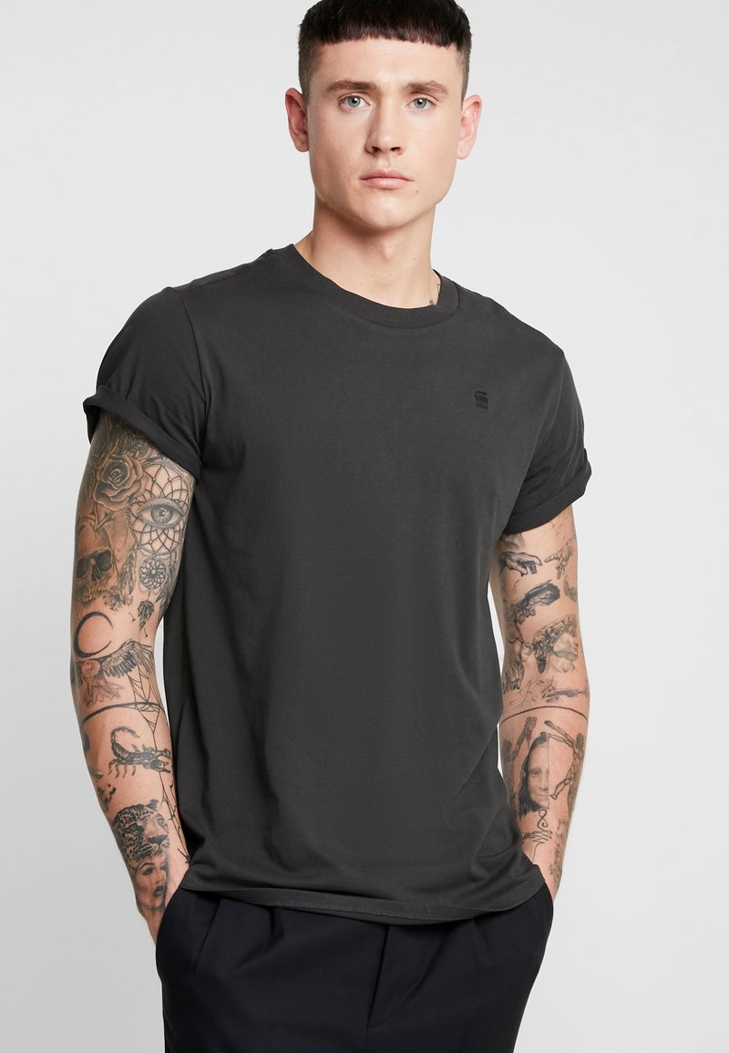 G-Star - SHELO RELAXED R T S/S - T-shirt basic - raven